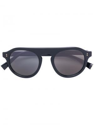 Солнцезащитные очки с круглой оправой Dolce & Gabbana Eyewear. Цвет: чёрный
