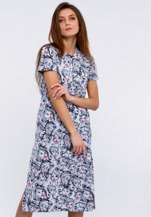 Платье Апрель. Цвет: белый