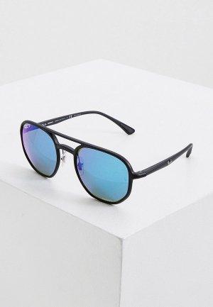 Очки солнцезащитные Ray-Ban® RB4321CH 601SA1, с поляризацией. Цвет: черный