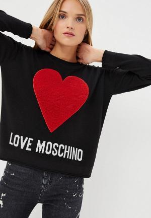 Джемпер Love Moschino. Цвет: черный
