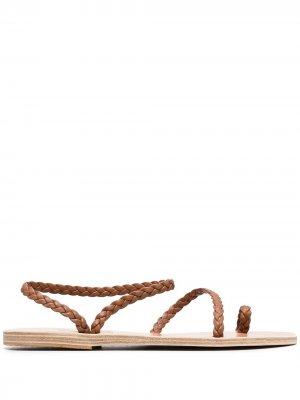 Сандалии Elefhteria Ancient Greek Sandals. Цвет: коричневый