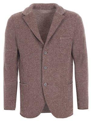 Пиджак шерстяной Gran Sasso. Цвет: бежевый