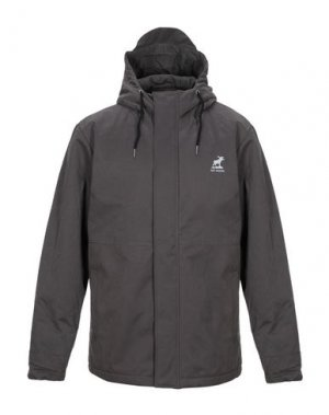 Куртка FAT MOOSE. Цвет: свинцово-серый