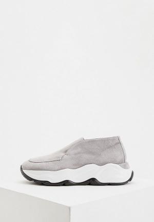 Кроссовки Nando Muzi. Цвет: серый