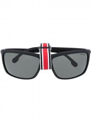 Солнцезащитные очки Hyperfit с затемненными линзами Carrera. Цвет: черный