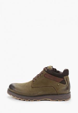 Ботинки Baden. Цвет: зеленый