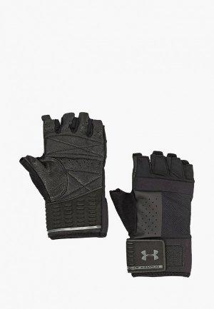 Перчатки для фитнеса Under Armour Mens Weightlifting Glove. Цвет: черный