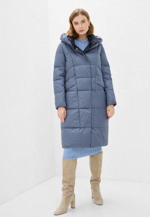 Куртка утепленная Снежная Королева VVW2DC035. Цвет: голубой