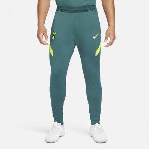 Мужские трикотажные футбольные брюки Dri-FIT Tottenham Hotspur Strike - Зеленый Nike