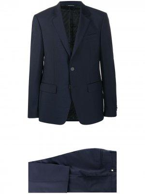 Костюм с однобортным пиджаком Givenchy. Цвет: синий