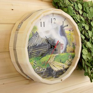 Часы банные бочонок Добропаровъ