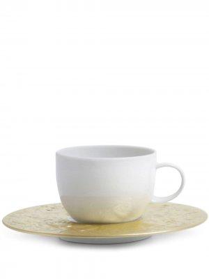 Чайная пара Zauberflöte Sarastro Rosenthal. Цвет: белый