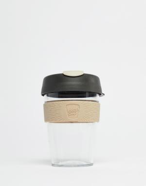 Многоразовая кружка из прозрачного пластика с силиконовым держателем KeepCup, 12 унций-Мульти Keep Cup