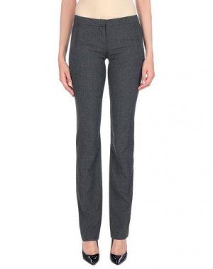 Повседневные брюки DIVINA. Цвет: стальной серый