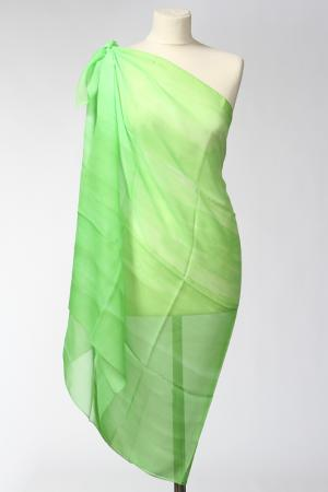 Парео F.FRANTELLI. Цвет: зеленый