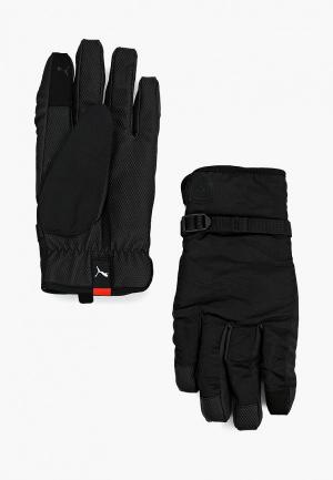 Перчатки PUMA SF LS Gloves. Цвет: черный