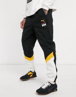 Черные джоггеры x Helly Hansen-Черный Puma