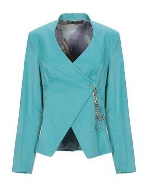 Пиджак X'S MILANO. Цвет: изумрудно-зеленый