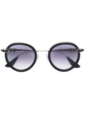 Солнцезащитные очки в круглой оправе Chrome Hearts