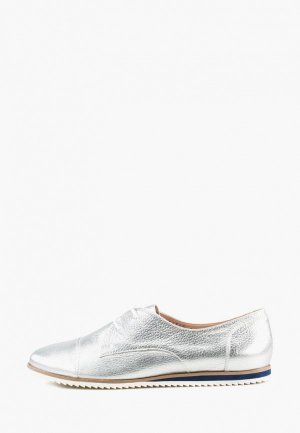 Ботинки Giotto. Цвет: серебряный