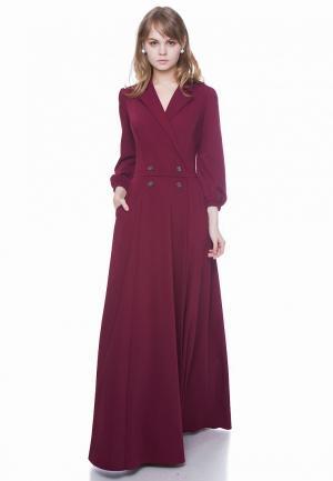 Платье Marichuell MEVIS. Цвет: бордовый