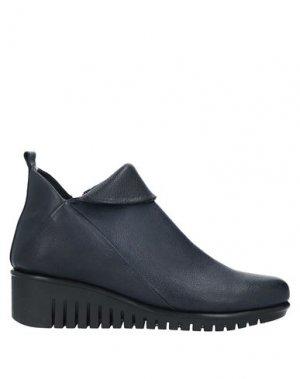 Полусапоги и высокие ботинки THE FLEXX. Цвет: темно-синий