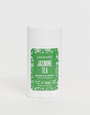 Натуральный дезодорант с ароматом жасминового чая Schmidts Jasmine-Бесцветный Schmidt's