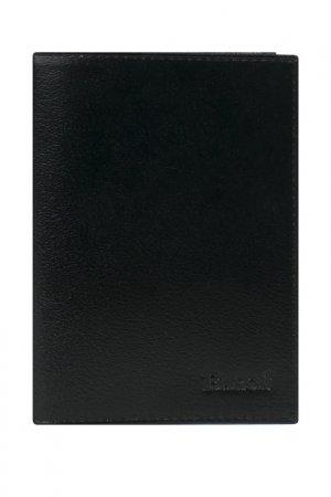 Обложка для паспорта Baron. Цвет: черный