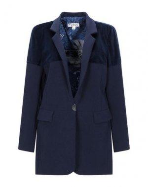 Пиджак FUEGO WOMAN. Цвет: темно-синий