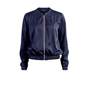 Куртка -бомбер VICENTRI BOMBER JACKET VILA. Цвет: сине-серый