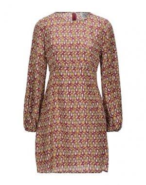 Короткое платье ATTIC AND BARN. Цвет: бежевый