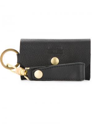 Ключница с брелком As2ov. Цвет: черный