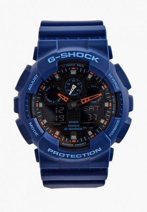 Часы Casio G-SHOCK GA-100L-2A. Цвет: синий