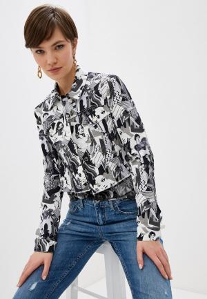 Куртка джинсовая Liu Jo White Label. Цвет: серый
