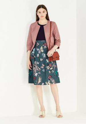 Куртка кожаная Max&Co. Цвет: розовый