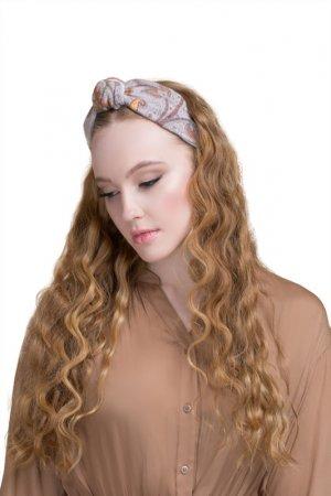 Ободок для волос Paon. Цвет: бежевый