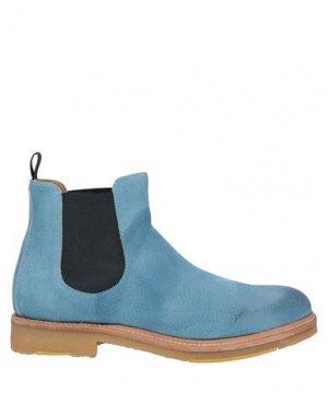 Полусапоги и высокие ботинки CORVARI. Цвет: грифельно-синий