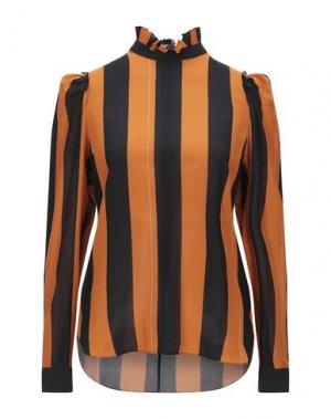 Блузка BAND OF OUTSIDERS. Цвет: оранжевый