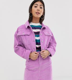 Укороченная джинсовая куртка COLLUSION-Фиолетовый Collusion