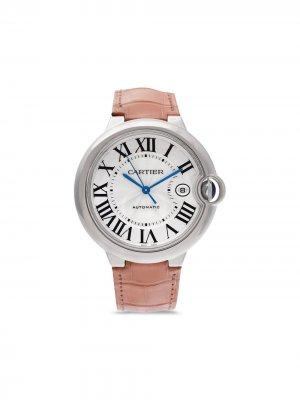Наручные часы Ballon Bleu pre-owned 42 мм 2005-го года Cartier. Цвет: серебристый