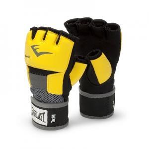 Перчатки-бинты снарядные Evergel, размер 8 Everlast. Цвет: желтый