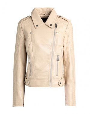 Куртка VERO MODA. Цвет: бежевый