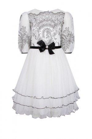Платье Lesy. Цвет: ivoryblack