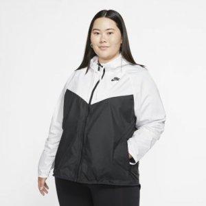 Женская куртка Nike Sportswear Windrunner (большие размеры) - Белый