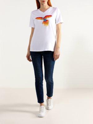 Зауженные джинсы ORSA Orange. Цвет: siniy