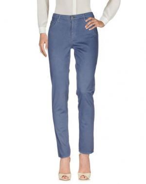 Повседневные брюки AG JEANS. Цвет: грифельно-синий
