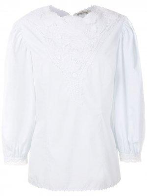 Блузка Ana Martha Medeiros. Цвет: белый