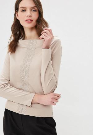 Блуза Argent. Цвет: бежевый