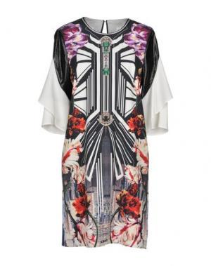 Короткое платье CLOVER CANYON. Цвет: черный