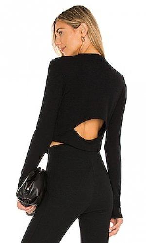 Топ pose LNA. Цвет: черный